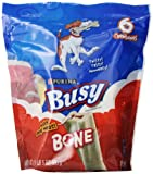 Purina 381059 4-Pack Busy Bone For Small/Medium Dogs Pouch Food, 21-Ounce