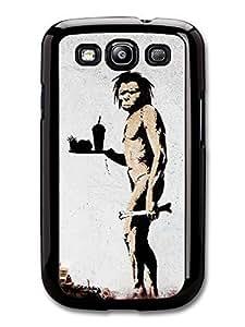 Wholesale diy case Accessories Fast Food Banksy Case for Samsung Galaxy S3 Street Art Graffiti