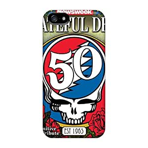 Scratch Protection Cell-phone Hard Covers For Iphone 5/5s With Allow Personal Design HD Grateful Dead Band Series RitaSokul