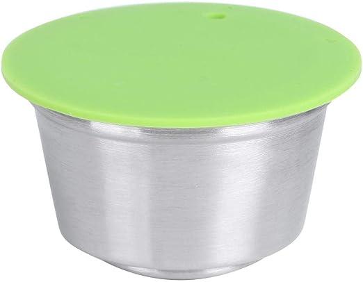 Cápsulas reutilizables de acero inoxidable Cápsulas de café crema ...
