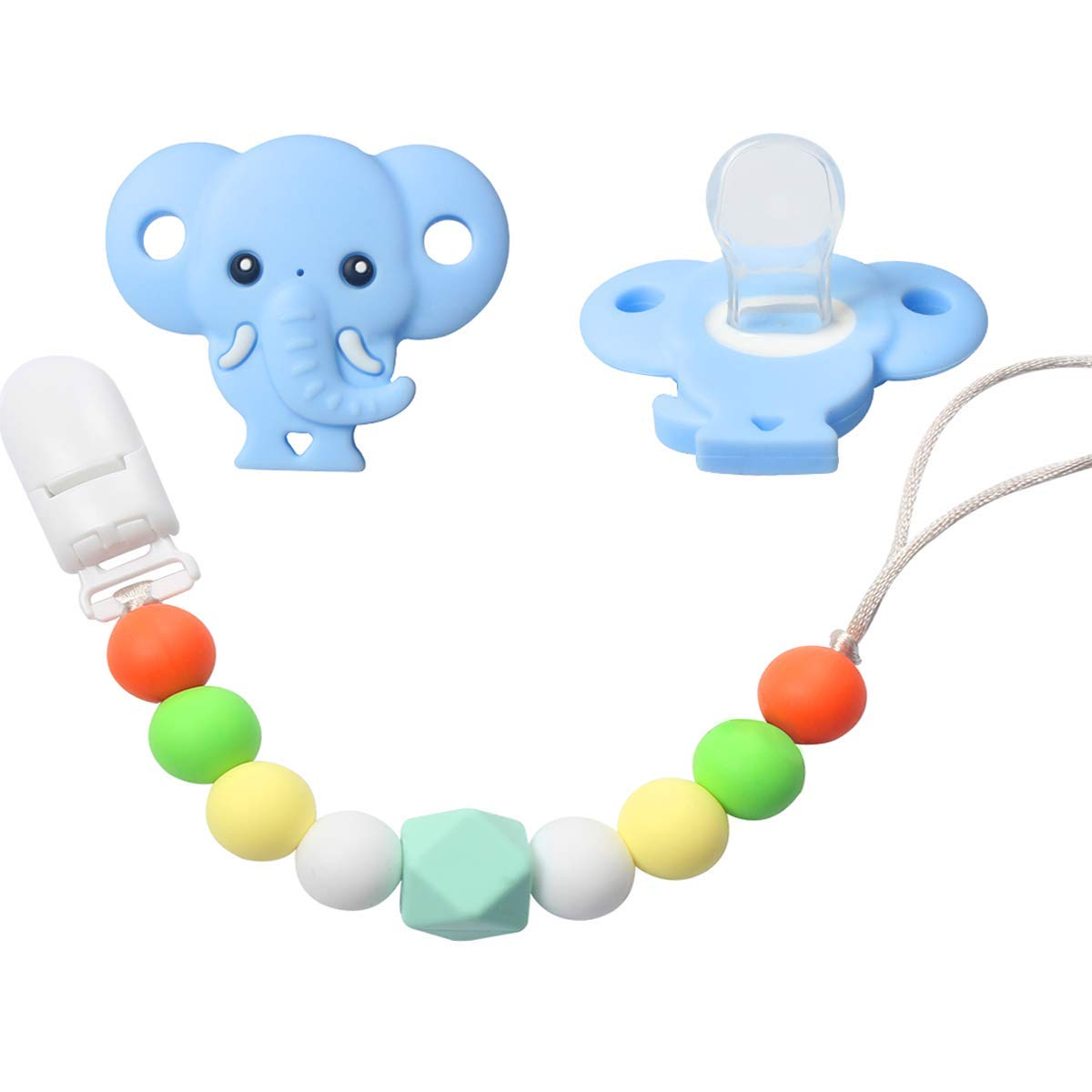 Beads & Jewelry Making Beads 1 Piece Bpa Free 100% Food Grade Silicone Dog Beads Baby Chewable Animal Teething Beads For Pacifier Clip Or Soothing Products