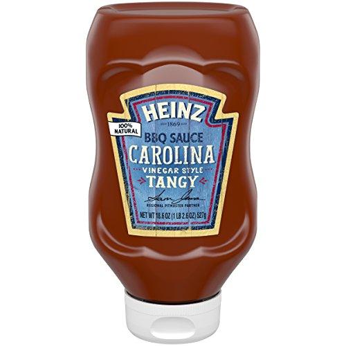 Heinz BBQ Sauce, Tangy Vinegar Carolina Style BBQ Sauce, 18.