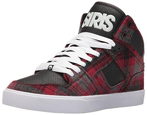 Osiris NYC 83 Hi Top Skate Schuh - Schwarz / Plaid Schwarz / Plaid