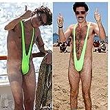 Mismxc Men's Mankini Swimsuit Thong Borat Style V