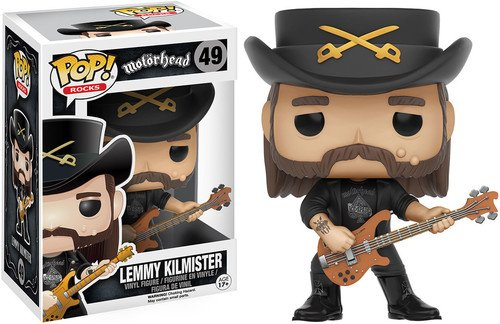 Funko POP Rocks: Lemmy Kilmister Action Figure