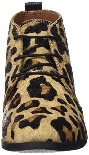 Colores para Gioseppo de Cordones Leopardo Varios Brogue Zapatos Luisiana Mujer n6P6OfqA8