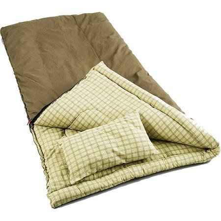 Coleman Big Game -5 Degree Canvas Includes cotton flannel pillow Sleeping Bag by Unknown (Image #1)