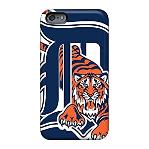 Best Cell-phone Hard Cover For Apple Iphone 6 Plus With Custom Trendy Detroit Tigers Series JacquieWasylnuk