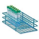 16mm Tube Rack for 10mL Test Tubes Medium Holds 72 tubes 9.5''L x 5''W x 2.5''H