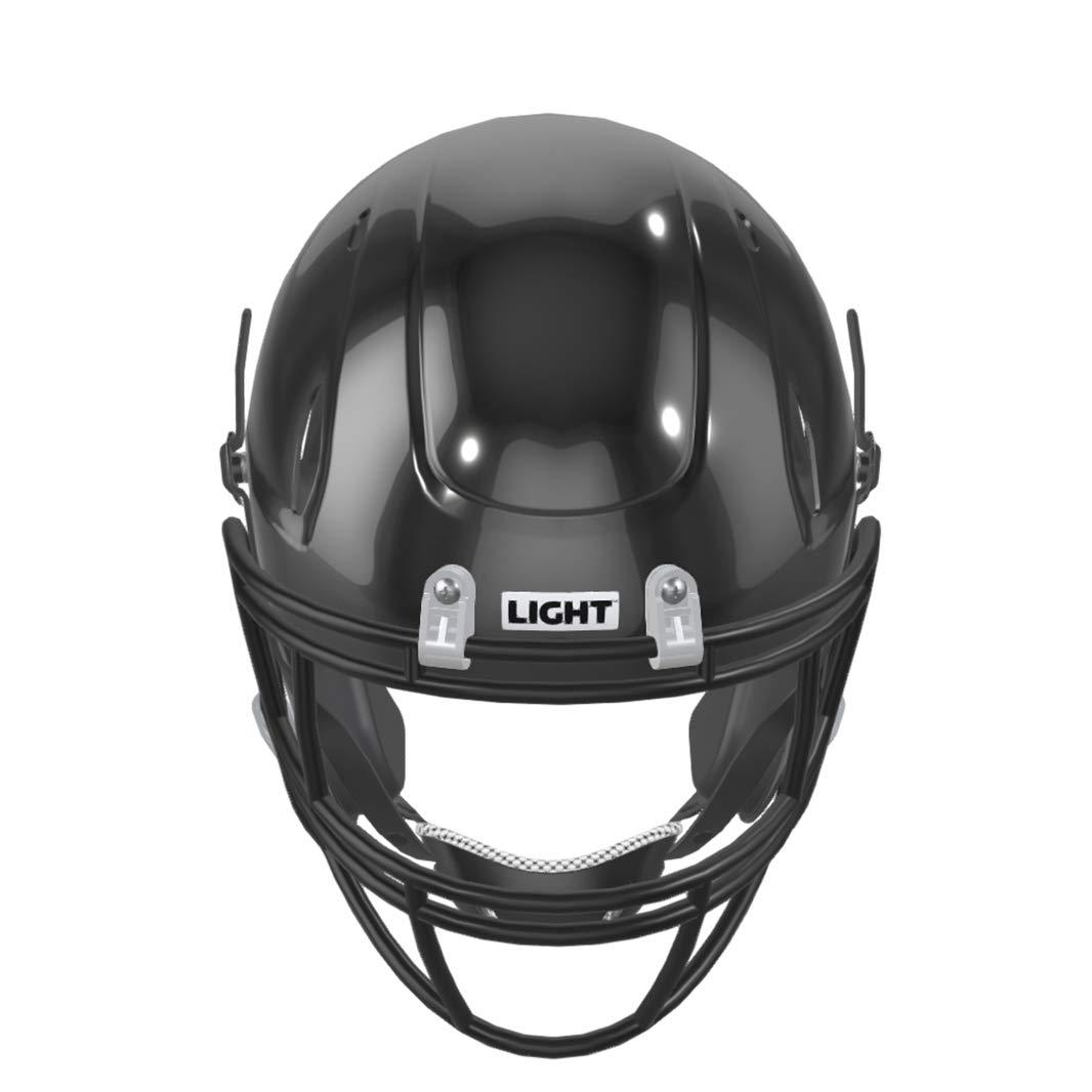 Strong Materials Made w//Ultra Light Virginia Tech 5 Star Rated LIGHT Helmets Youth Football Helmet