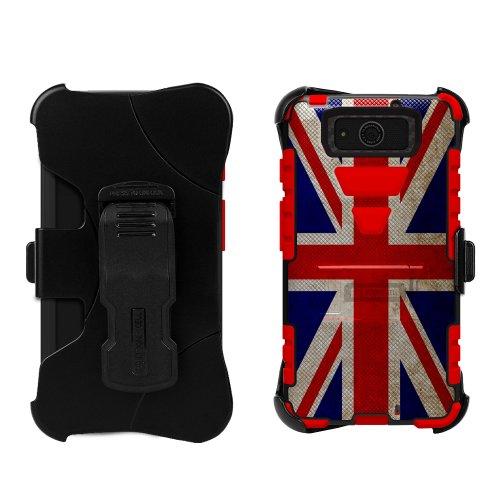 Motorola Droid Ultra/Maxx XT1080/M Tri Shield Kombo British Flags