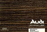 Audi. Super 90. Manuale di istruzioni.