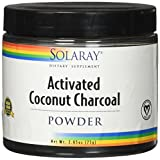 Solaray Coconut Charcoal Activated Fine Powder, 75 Gram For Sale