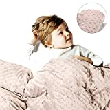 sSnooze Weighted Blanket Cover for Adults and Kids - Removable Washable Duvet Cover for Weighted Blanket - Super Soft Sensory - Throw Blanket - Blanket with Premium Quality - Best Relaxation Gifts