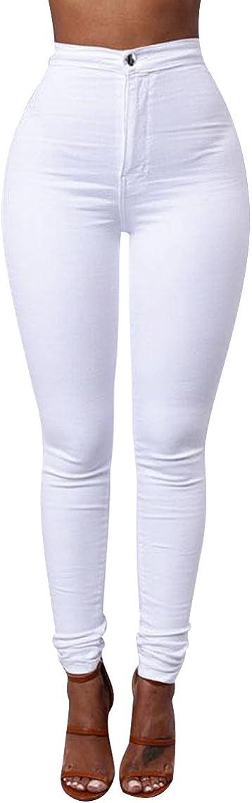 ISSHE Jegging Femme Pantalon Skinny Taille Haute Slim Tregging Pantalons Stretch Femmes Legging Crayon Pantalon Leggings Jeggings Grande Taille Moutarde Treggings Fashion Casual Mode
