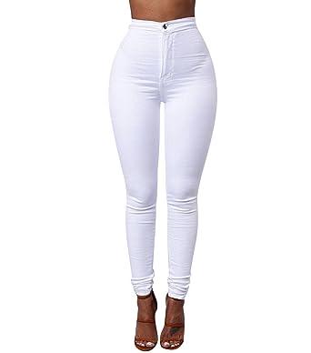 fournir un grand choix de assez bon marché mieux choisir ISSHE Jegging Femme Pantalon Skinny Taille Haute Slim Tregging Pantalons  Stretch Femmes Legging Crayon Pantalon Leggings Jeggings Grande Taille ...
