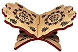 Holy Al-Quran Rehal Book Stand E3019 Muslim Wooden Carved Rihal Folding Display Bible Magazine Holder Islam Gift