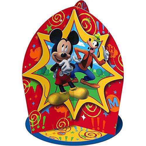 Hallmark Mens Disney Mickey Fun and Friends Centerpiece Black Medium