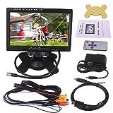 Kuman 17,8cm visualización HD 1024x 600Pantalla TFT LCD Monitor para Raspberry Pi B + A + 332B B RPI 1con HDMI Entrada VGA, DVD VCR Coche con Mando a Distancia Cable HDMI sc7j