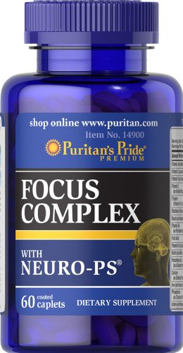 Puritan's Pride Focus Complex with Neuro-PS-60 Caplets