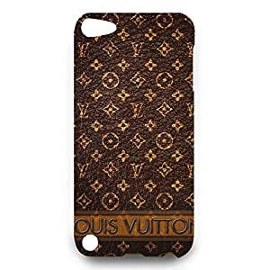 Louis with Vuitton Case Series 3D Hard Plastic Case Cover Snap on Ipod Touch 5 Louis and Vuitton Style