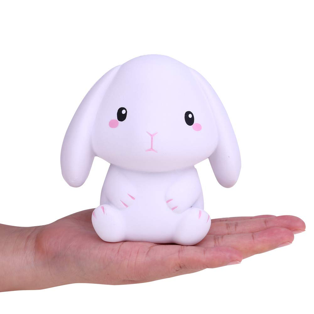 callm Squishies Style Slow Rising Squishy Toys Adorable Rabbit Scented Squishies Kids Party Squishy Stress Reliever Toy for Kids Adult (A)