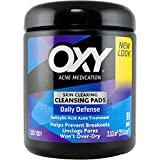 OXY Acne Medication Cleansing Pads – Daily Defense with Maximum Strength 2% Salicylic Acid (90 pads; Pack of 3)