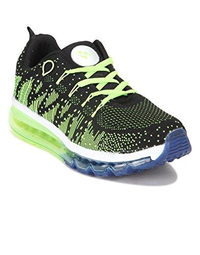 Yepme - Zapatillas de atletismo de Material Sintético para hombre verde verde
