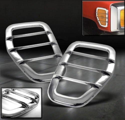 - Kasei H3-SLR Fits Hummer H3 Chrome Side Marker Lamp Trims