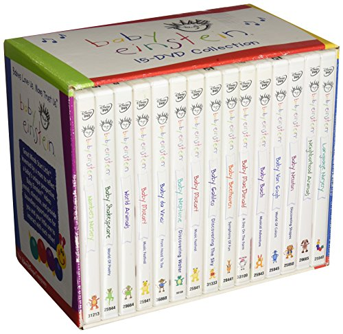 Baby Themed Movies (BABY EINSTEIN ENTIRE DVD COLLECTION 15 IN)