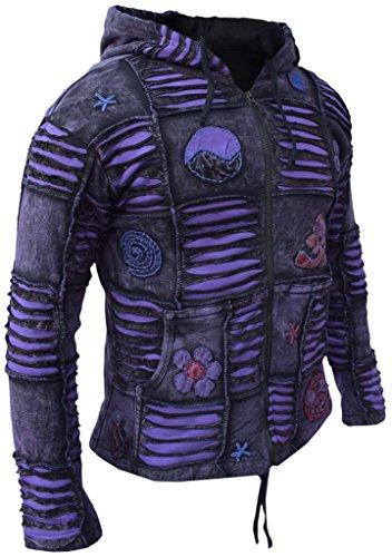 Little Lined Kathmandu Fleece Purple Giacca non Uomo qrTgwq1xfH