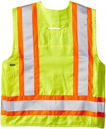 Viking Surveyor Hi-Vis Safety Vest, Green, XX-Large by Viking (Image #2)