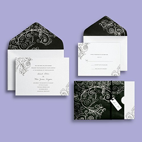 BRIDES® Chalkboard Invitation -