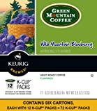 Green Mountain Coffee Wild Mountain Blueberry, Keurig K-Cups, 72 Count