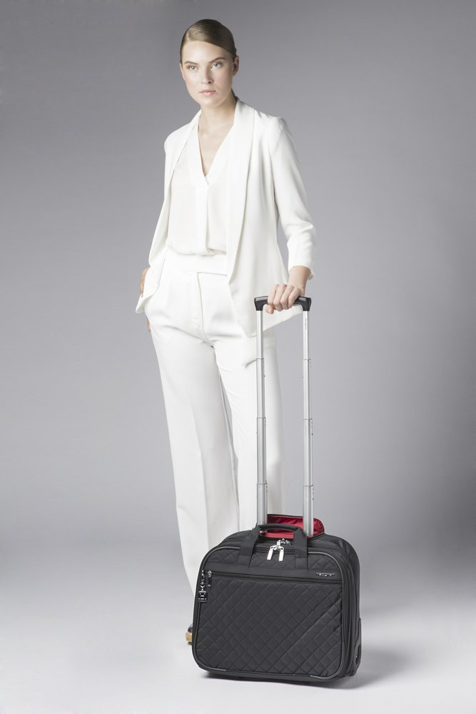 Hedgren Cindy Business Trolley 15.6 Briefcase, Black by Hedgren (Image #6)