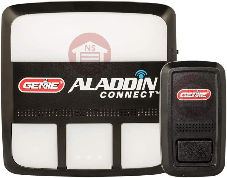 Genie ALKT1-R Aladdin Connect Smartphone Garage Door Opener – Monitor, Open & Close Your Garage Door from Anywhere (Item is Brand New Will Ship in Brown Box, not in Gift Box)