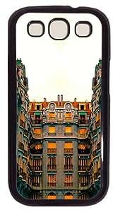 StructureCustom Samsung Galaxy S3 I9300 Case Cover Polycarbonate Black