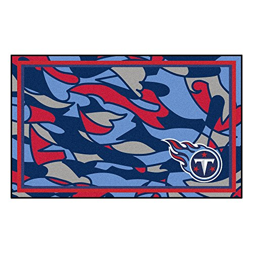 Tennessee Titans Nfl Rug - FANMATS NFL Tennessee Titans 4x6 Rug, One Size, Team Color