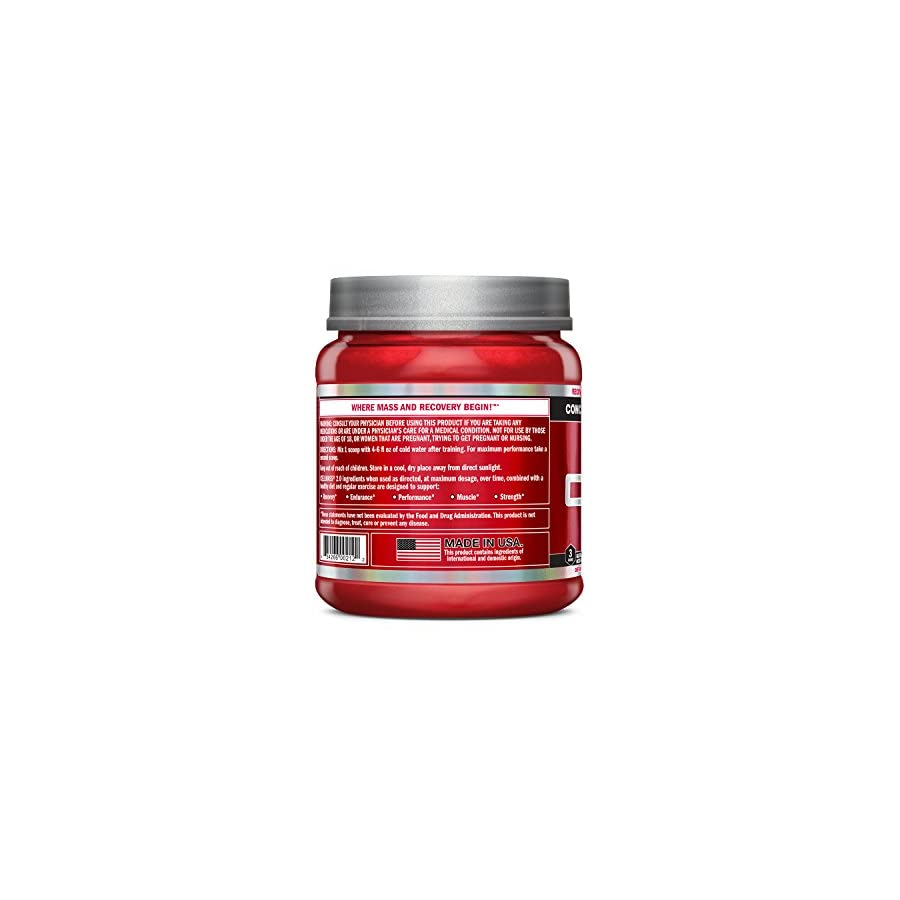 BSN CELLMASS 2.0 Post Workout Recovery with BCAA, creatine, & glutamine Watermelon, (50 Servings)