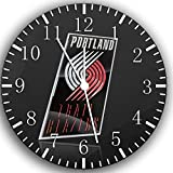 Trail Blazers Frameless Borderless Wall Clock W196 Nice For Gift or Room Wall Decor