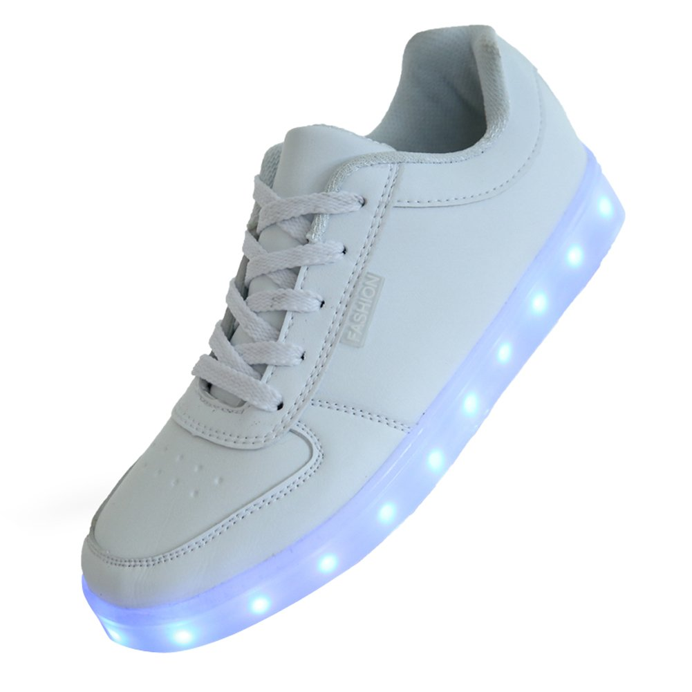 Mr Lee Unisex High Top USB Charging LED Shoes Flashing Sneakers