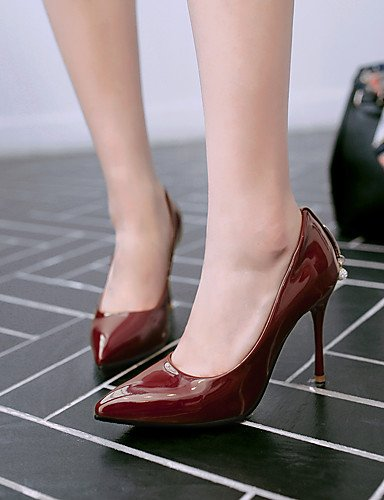 GGX/Damen Schuhe Frühling/Sommer/Herbst/Winter Heels/Basic Pumpe/spitz Toe Office & Karriere/Kleid/casualstiletto black-us5.5 / eu36 / uk3.5 / cn35