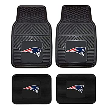 Football-NFL New England Patriots Auto & Motorcycle Accessories Car Mats