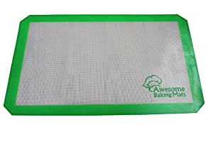 Silicone Baking Mats - Set of 2 - includes free Digital Kitchen Scale