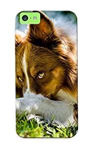 Judasslzzlc Premium Border Collie Heavy-duty Protection Design Case For Iphone 5c