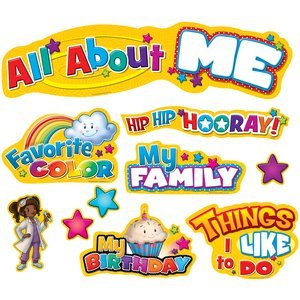 All About Me by Teacher Created Resources