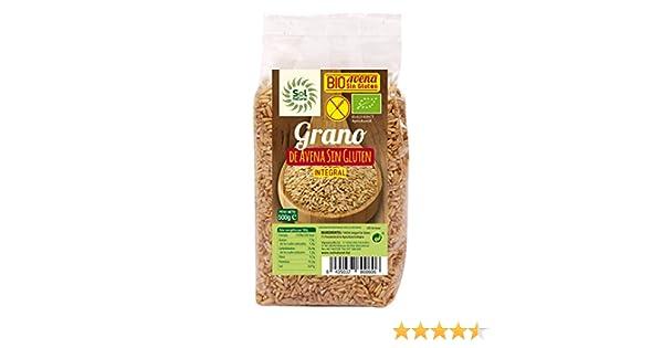 Solnatural Avena En Grano Bio 500 Gr S/Gluten Envase De 500 Gramos 400 ml: Amazon.es: Salud y cuidado personal