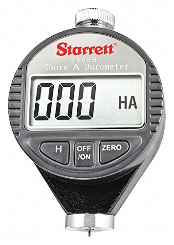 Handheld Digital Durometer,Shore A Scale by Starrett