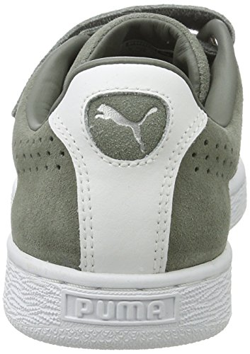 Puma Unisex-Erwachsene Basket Classic Strap Low-Top Grün (agave green 03)