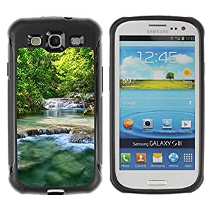 "Hypernova Defender Series TPU protection Cas Case Coque pour Samsung Galaxy S3 III I9300 [Naturaleza Beautiful Waterfalls""]"